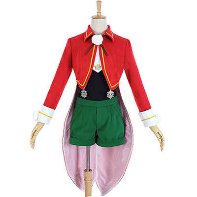 Cardcaptor Sakura Kinomoto Sakura Cosplay Kostuum Kerstmis