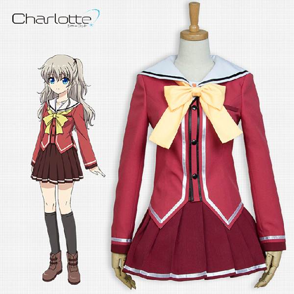 Disfraces Charlotte Nao Tomori Cosplay