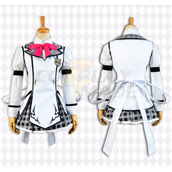 Costumi Chivalry of a Failed Knight Shizuku Kurogane Cosplay