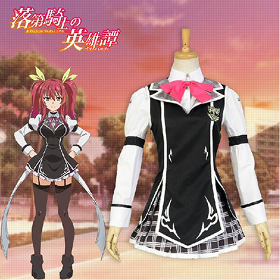 Chivalry of the Failed Knight Stella Vermillion Cosplay Kostume