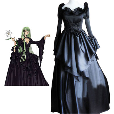Code Geass C.C. Lolita Dress Cosplay Costume