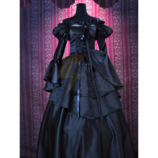 Code Geass C.C. Lolita Dress Cosplay Costume