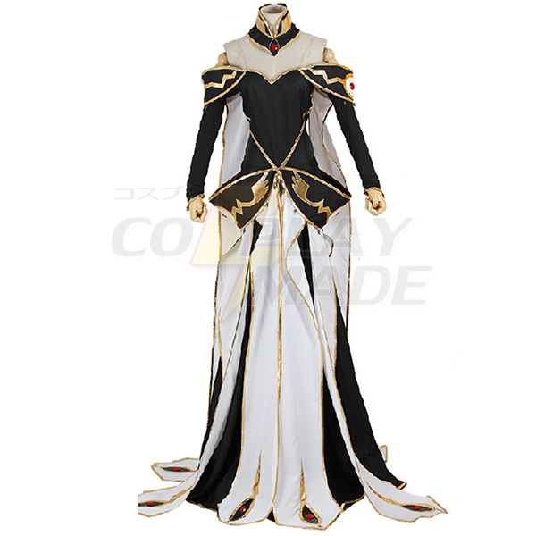Costumi Code Geass C.C. Queen Vestito Cosplay