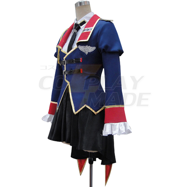 Code Geass Leila Malcal Cosplay Costume
