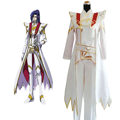 Code Geass Akito the Exiled Shin Hyuga Shaing Cosplay Costume