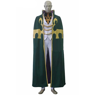 Code Geass Gino Weinberg Uniform Cosplay Costume