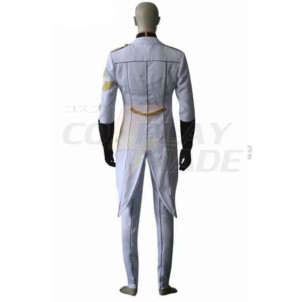 Costumi Code Geass Gino Weinberg Uniforme Cosplay