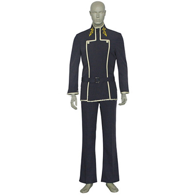 Code Geass Lelouch Lamperouge Uniform Cosplay Kostume