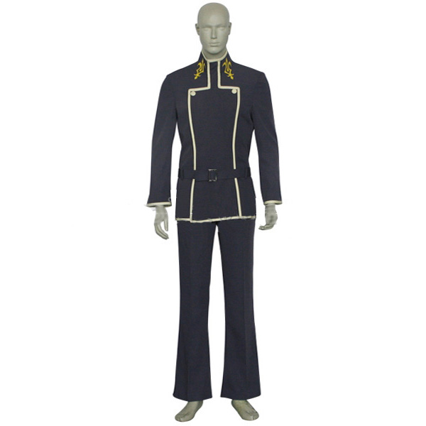Code Geass Lelouch Lamperouge Uniform Cosplay Costume