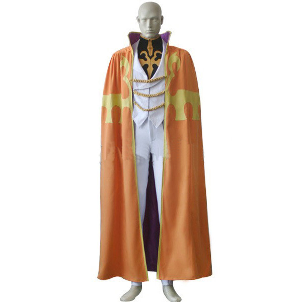 Code Geass Luciano Bradley Uniform Cosplay Costume