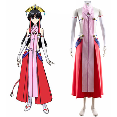 Cross Ange Rondo of Angels and Dragons Salamandinay Cosplay Costume