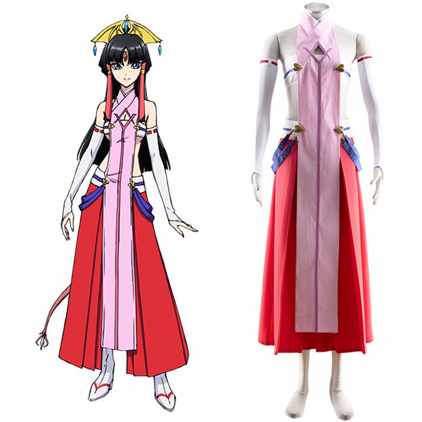 Disfraces Cross Ange Rondo of Angels and Dragons Salamandinay Cosplay