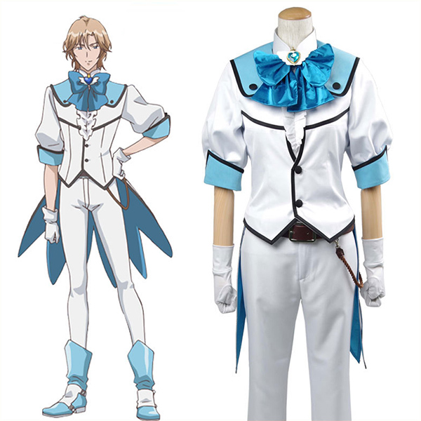 Binan Koukou Chikyuu Bouei Bu Love! Battle Lover Cerulean Cosplay Costume