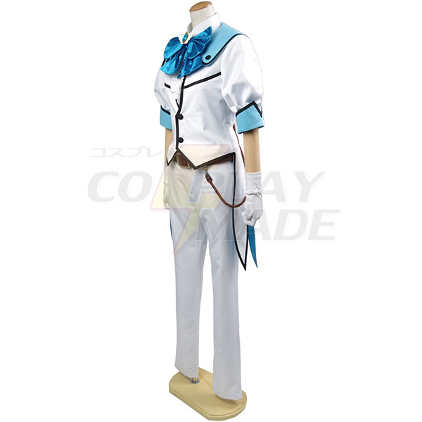 Costumi Binan Koukou Chikyuu Bouei Bu Love! Battle Lover Cerulean Cosplay