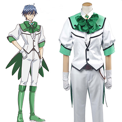 Binan Koukou Chikyuu Bouei Bu Love! Battle Lover Epinal Cosplay Costume
