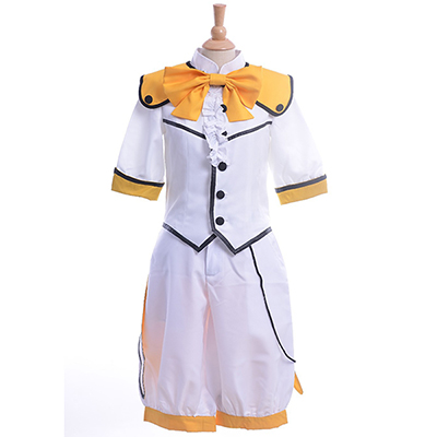 Cute High Earth Defense Club Love! Batlava Sulphur Io Naruko Cosplay Kostyme