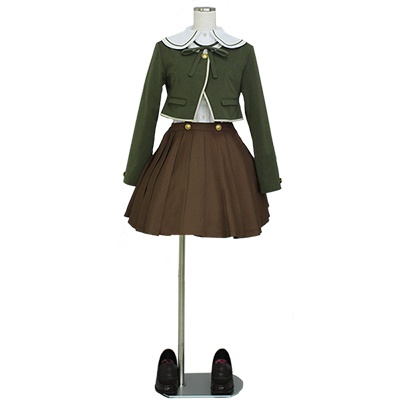 Danganronpa Dangan Ronpa Fujisaki Chihiro Uniform Cosplay Kostuum