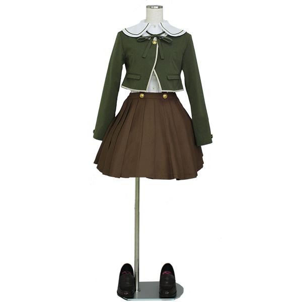 Danganronpa Dangan Ronpa Fujisaki Chihiro Uniform Cosplay Costume