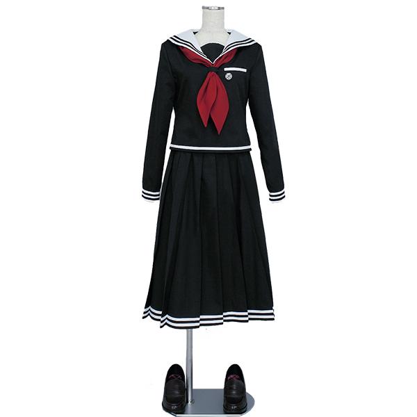 Danganronpa Dangan Ronpa Fukawa Touko Cosplay Kostuum