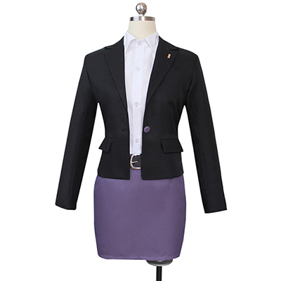 Danganronpa 3 Kirigiri Kyouko Cosplay Costume Stage Clothes