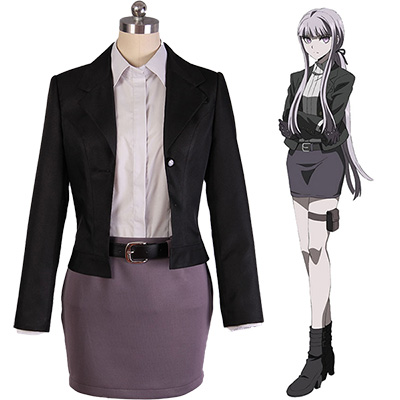 Danganronpa 3: The End of Hope Kyoko Kyouko Kirigiri Suit Cosplay Kostym