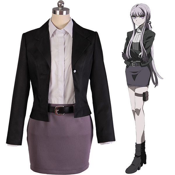Costumi Danganronpa 3: The End of Hope Kyoko Kyouko Kirigiri Suit Cosplay