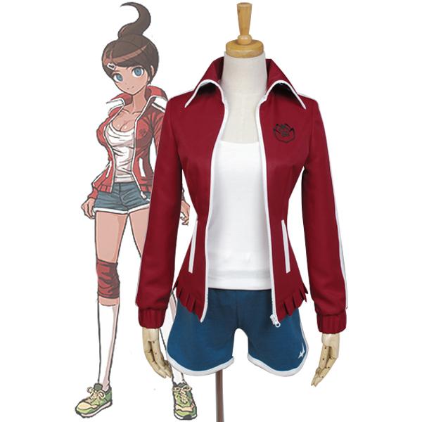 Costumi Danganronpa Aoi Asahina Cosplay Donna Ragazze
