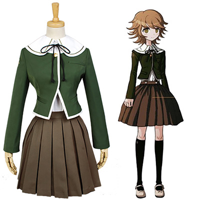 Danganronpa Chihiro Fujisaki Cosplay Costume For Women Girls