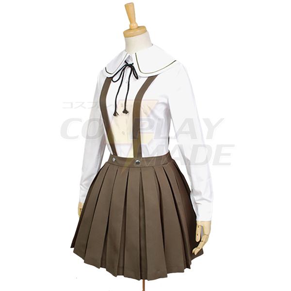Costumi Danganronpa Chihiro Fujisaki Cosplay Donna Ragazze