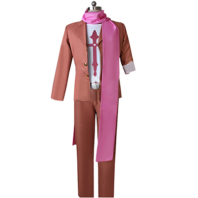 Danganronpa Gandamu Tanaka Cosplay Kostym Suits Karneval