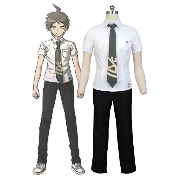 Danganronpa Hajime Hinata Uniform Cosplay Costume For Adult