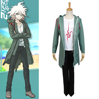 Danganronpa Nagito Komaeda Cosplay Costume Whole Set