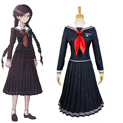 Danganronpa Toko Fukawa Cosplay Costume For Women Girls