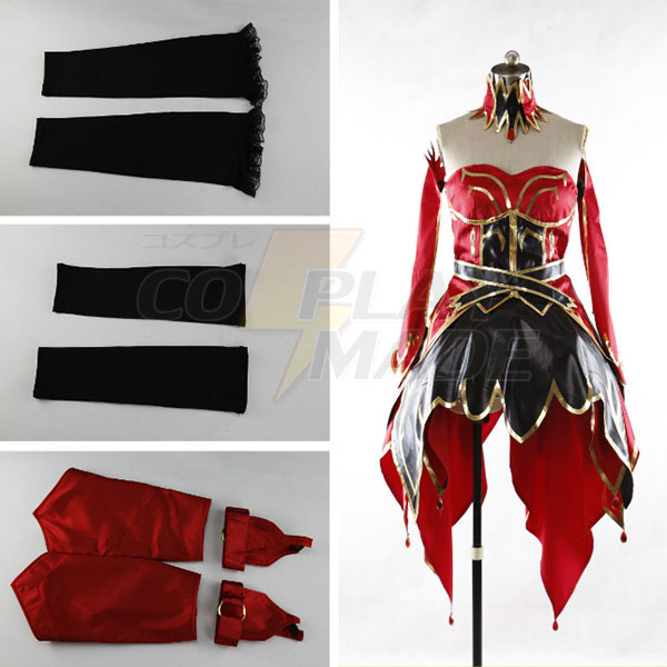 Dota 2 Lina Inverse the Slayer Dress Cosplay Costume Custom Made