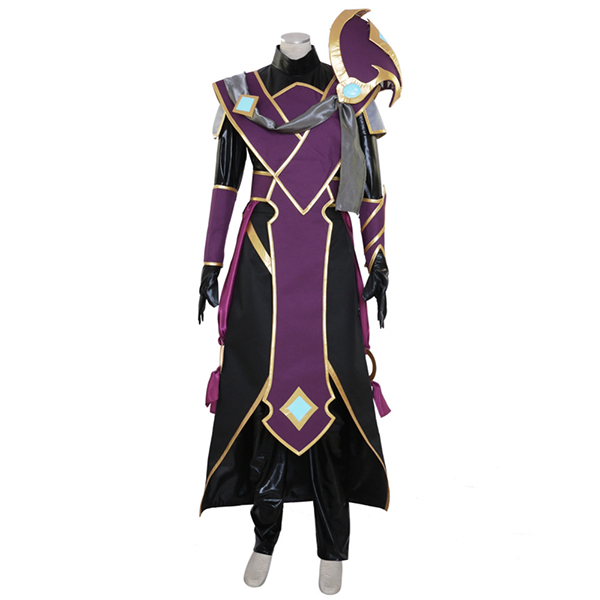Dota 2 The Silencer Nortrom Sil Hero Cosplay Costume Game