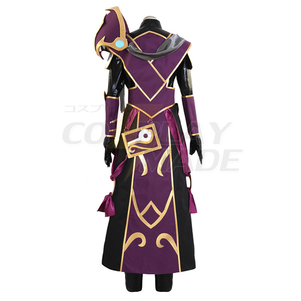 Disfraces Dota 2 The Silencer Nortrom Sil Hero Cosplay Juego