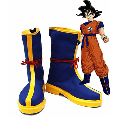 Zapatos Dragon Ball Monkey King Son GoKu Kakarot Cosplay Botas Carnaval