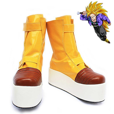 Dragon Ball Z Trunks Cosplay Bottes Carnaval Chaussures