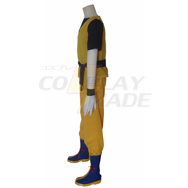 Dragon Ball Z Super Saiyan Son Goku KongFu Uniform Cosplay Costume