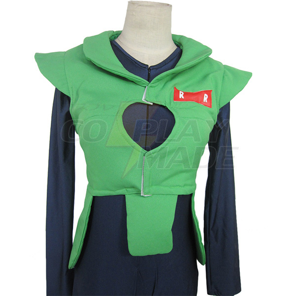 Dragonball Z Android No.16 Cosplay Costume Costum Made