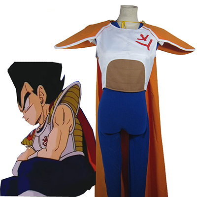 Costumi Dragon Ball Z Vegeta Saiyan Principessa Uniforme Cosplay