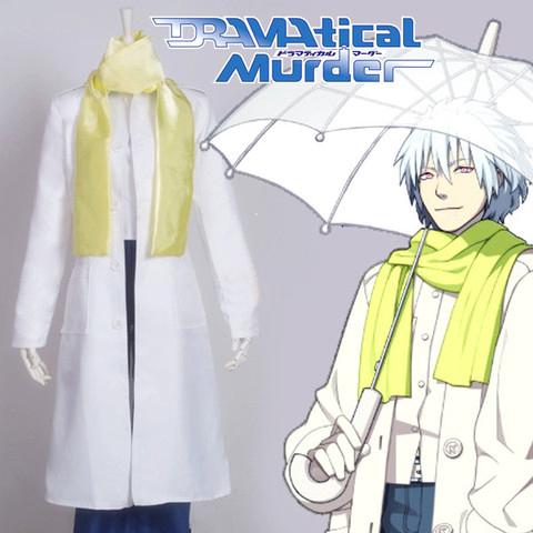 Disfraces DMMD Dramatical Murder Clear Cosplay Anime Ropa