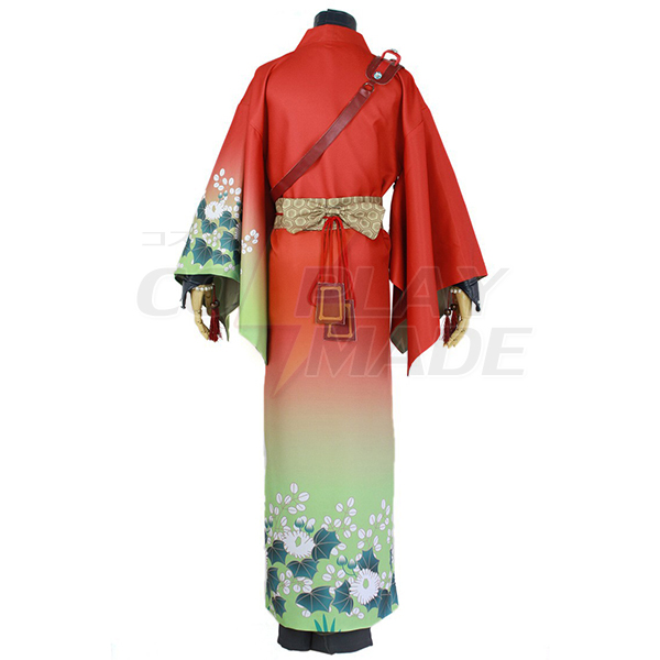 DMMD Dramatical Murder Koujaku Cosplay Costume Red Kimono Anime Clothes