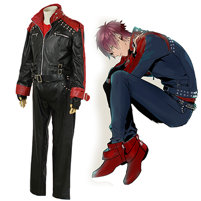 DMMD Dramatical Murder Mizuki Cosplay Puku for Leather Takki Asut