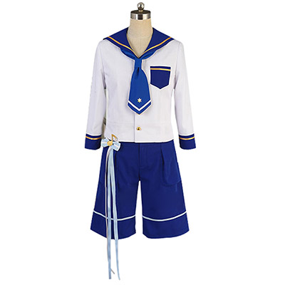 Ensemble Stars Navy Uniform Mashiro Tomoya Nito Mazuna Tenma Mitsuru Shino Cosplay