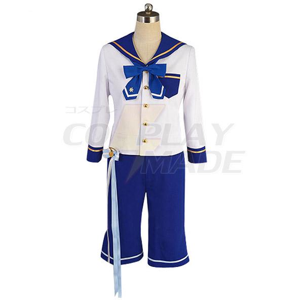 Costumi Ensemble Stars Navy Uniforme Mashiro Tomoya Nito Mazuna Tenma Mitsuru Shino Cosplay