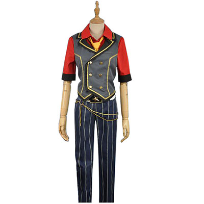 Ensemble Stars Ogami Koga Cosplay Kostuum Perfect aangepast