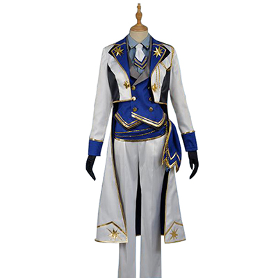 Ensemble Stars Suou Tsukasa Cosplay Costume Blue Stage Dress