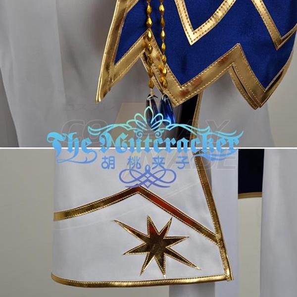 Ensemble Stars Suou Tsukasa Cosplay Costume Blue Stage Dress