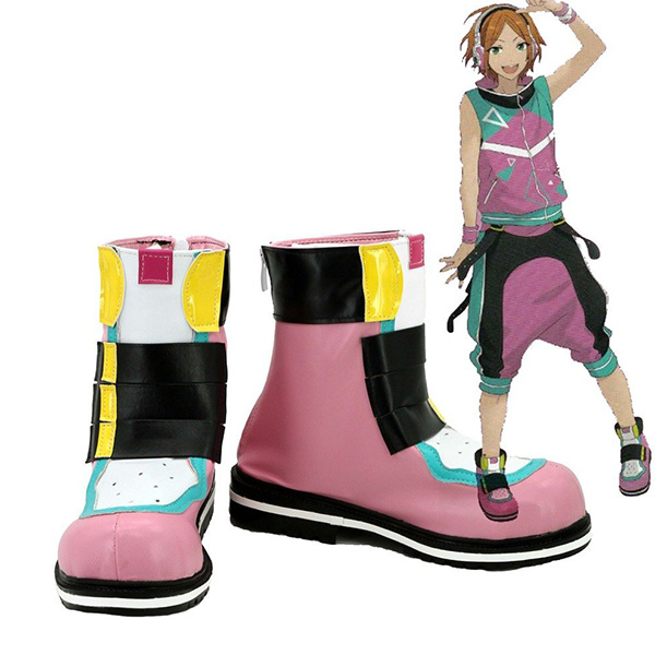 Ensemble Stars Aoi Hinata 2 Wink Cosplay Boots Custom Made Shoes